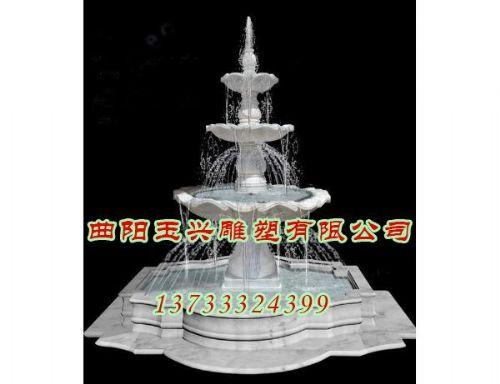 石雕喷泉价格-曲阳玉兴雕塑