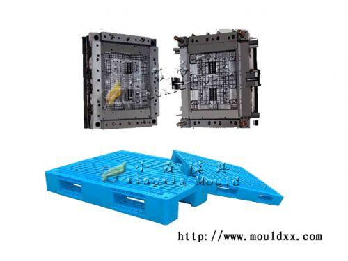 浙江1m网状双向塑料托盘模具 定做一米网状双向托盘模具