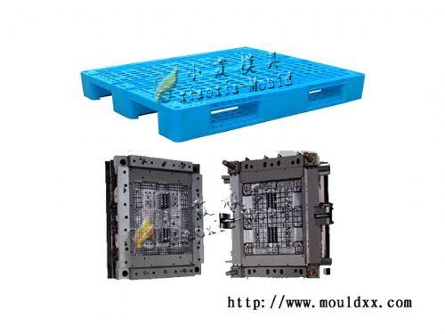 黄岩双层网格塑胶托盘模具,订做1m双层网格托盘模具
