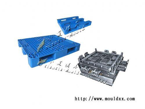 制造1米托盘塑胶模具,1m托盘模具厂家