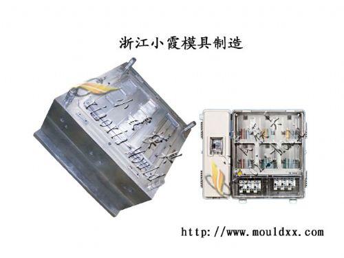 台州模具11表电表箱模具,11位表电表箱注射模具一套