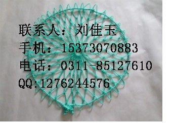 下水道井盖防坠网材质 绿色聚乙烯防坠网价格