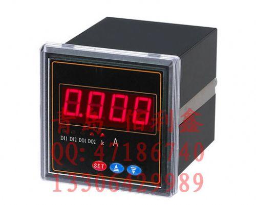 智能数字显示表头 交流 直流电压表 数显电压表带报警 多尺寸可选