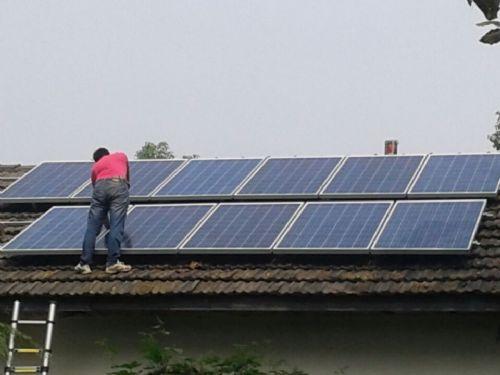 太阳能污水处理设备供电