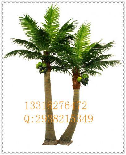 北京三里屯仿真植物仿真椰子树大王椰子树景观室内外