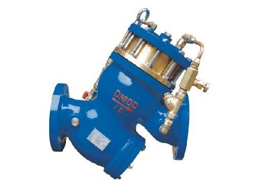 DS101X活塞式多功能水泵控制阀,多功能水利控制阀厂家,多功能