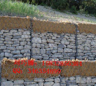 连云港拦石网带用热镀锌石笼网