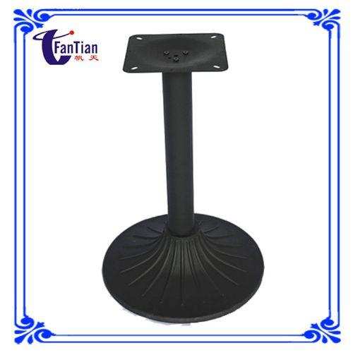 五金配件东莞厂家长期供应圆形铸铁桌脚 欧式复古餐台脚餐厅桌腿