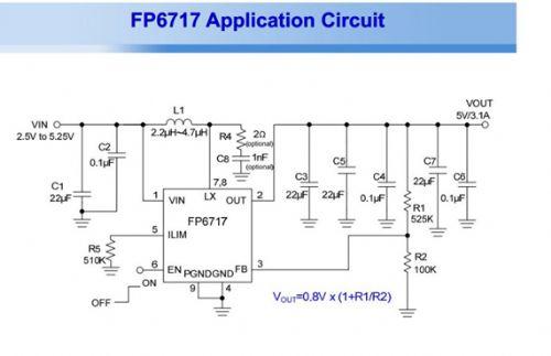 7v升压5v2a,电路很简单ic