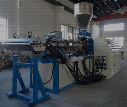新型锥形同向双螺杆管材/板材/型材/片材挤出机