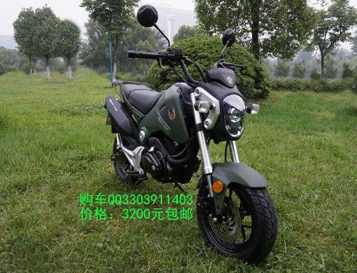 望江天地游侠大公仔迷你时尚摩托车TSR150