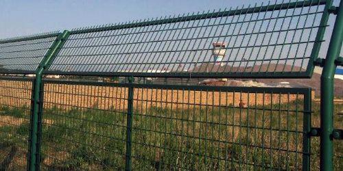 高速铁路防护隔离栅栏金属网片 桥下护栏