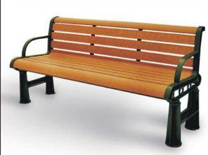 钢铁构件园林休闲椅