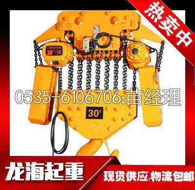 10T大吨位环链电动葫芦【升高3米电动葫芦/现货】龙海起重