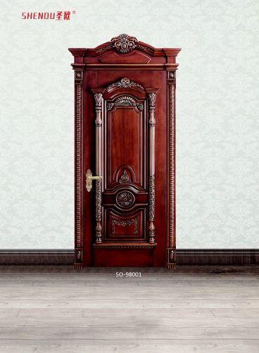 品牌木门代理圣欧木门,实木复合门供应亳州