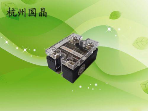 固态继电器杭州国晶-SSR-D4825A-单相交流固态继电器