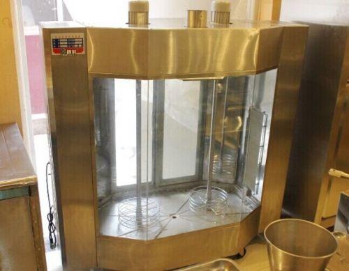 玻璃烤鸡炉 天津电热烤鸡炉 鸡鸭烧烤炉价格