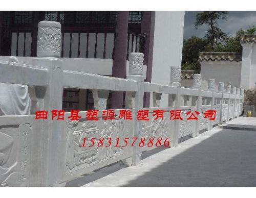 汉白玉石栏杆价格-曲阳动物石材雕刻价格-曲阳塑源雕塑有限公司