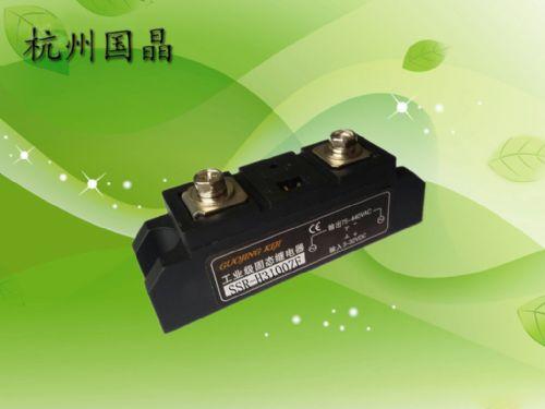 供应杭州国晶工业级固态继电器SSR-H3100ZF