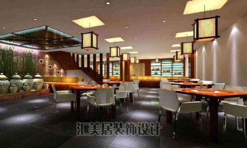 深圳特色餐厅装修,餐厅装饰设计效果图