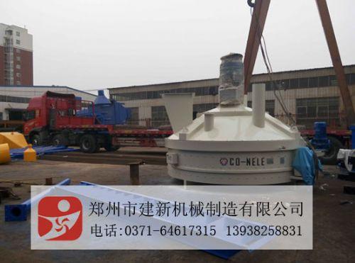 郑州建新砼搅拌机型号规格,立轴行星式搅拌机