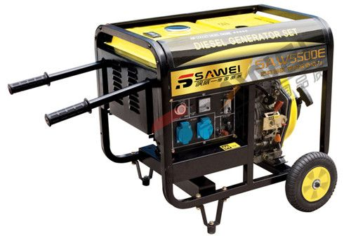 5千瓦小型柴油发电机