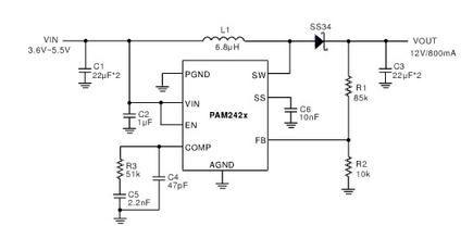 led恒流驱动ic:pam2861,pam2863           4.