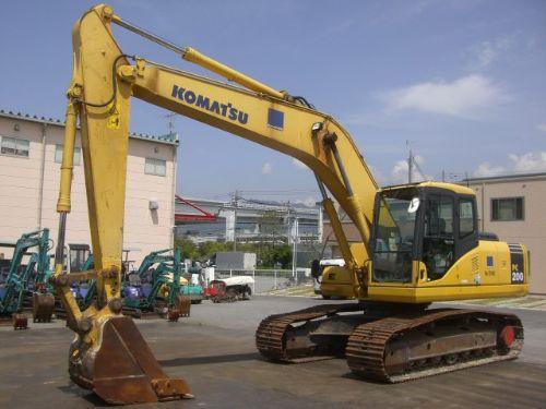 二手挖掘机|小松PC200-7进口二手挖掘机