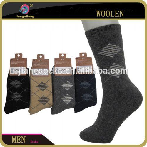 广州袜厂wool socks,保暖男士袜,羊毛男袜,中统男袜