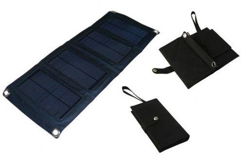 7W太阳能折叠充电包太阳能手机充电器