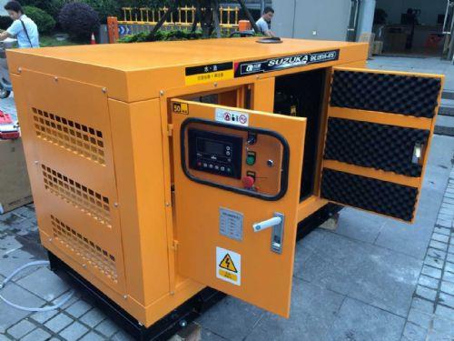 广州柴油15KW发电机