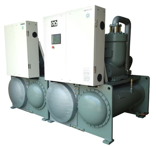 供应厂家直销日立质优螺杆式水冷冷水机组|低温冷水机组