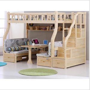 实木儿童床儿童上下床双层床儿童高低床儿童子母床