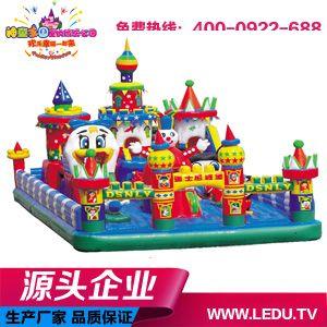 大型儿童乐园儿童充气玩具迪士尼城堡