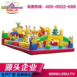 儿童充气乐园|充气堡儿童乐园小熊维尼