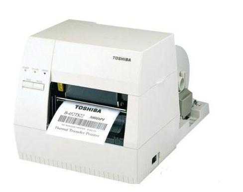 东芝条码打印机B-462TS     商用标签机300点 B-4