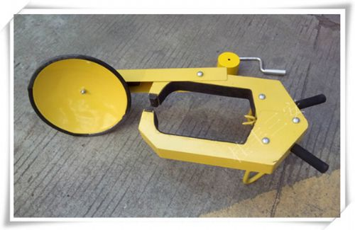 城厢防盗专用轮胎锁/执法专用车轮锁
