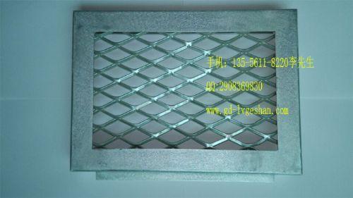 河北拉网板厂家金色菱形孔铝网板多用途装饰板厂价直销