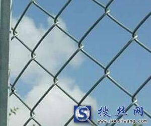 厂家直销丝径1.4-4.5mm镀锌勾花网菱形网