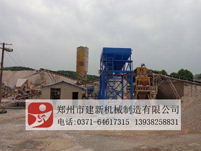郑州建新灰土拌和设备,级配碎石搅拌站的型号