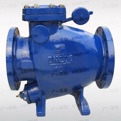 广一水泵厂,GYHH44X/Z-10、16微阻缓闭止回阀