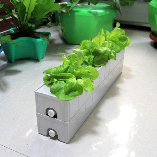 阳台种菜盆家庭菜园花盆窗台种植养花楼顶水培设备架