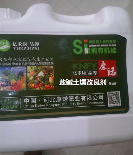 盐碱土壤改良剂