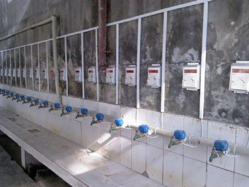 IC卡水控机 淋浴刷卡节水器