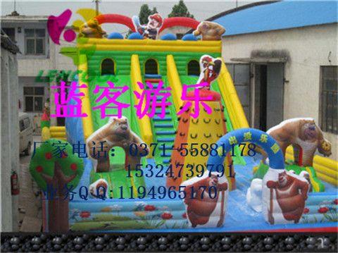 公园儿童充气城堡玩具