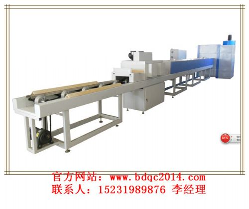 pvc微晶石塑装饰线条uv涂装生产线*
