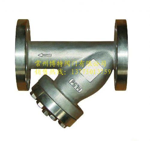 316不锈钢Y型过滤器GL41W-25RL