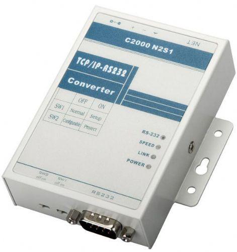 康耐德C2000 N2S1 百兆RS232转网络联网服务器