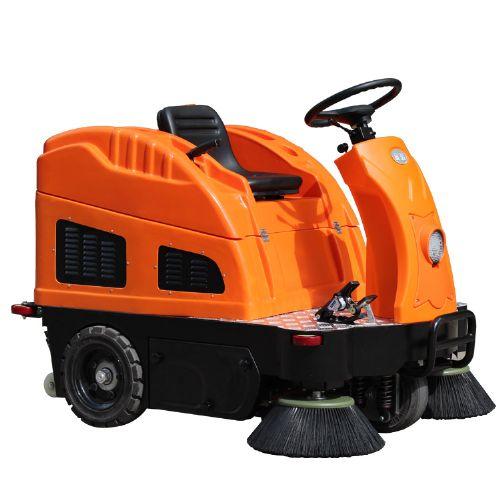物业小区 驾驶式扫地机 小区马路上清扫车