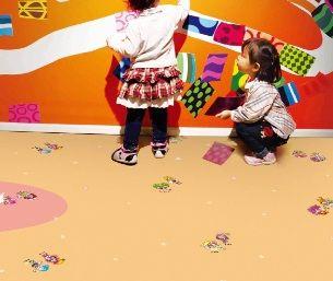 汉美臣塑胶地板艾米系列儿童地板